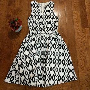 Everly Aztec print dress